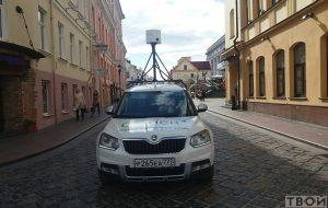 Машина Яндекс Карты в Гродно