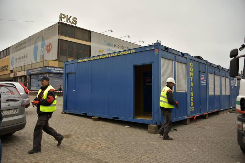 У Беластоку пачалі будаўніцтва часовага вакзала