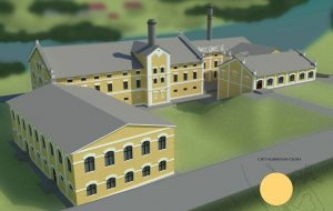 Гродзенец распрацаваў архітэктурны праект рэстаўрацыі піўзавода: з музеем, хостэлам і рэстаранам