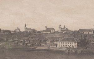 З біноклем па старым Гродне. Глядзі дэтальнае фота горада, якім ён быў 150 гадоў таму