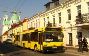Автобус в Гродно