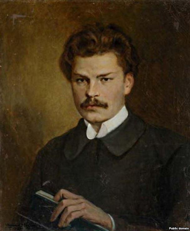 Валянцін Волкаў. Партрэт Максім Багдановіч, 1927