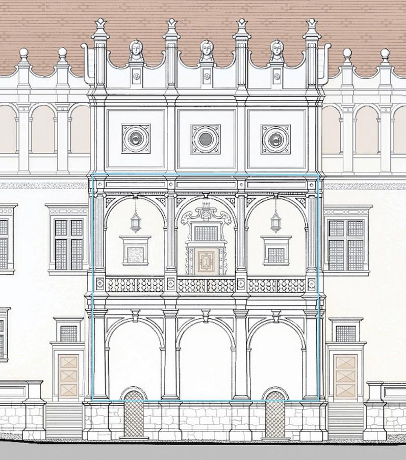 Галерэя замка Баторыя