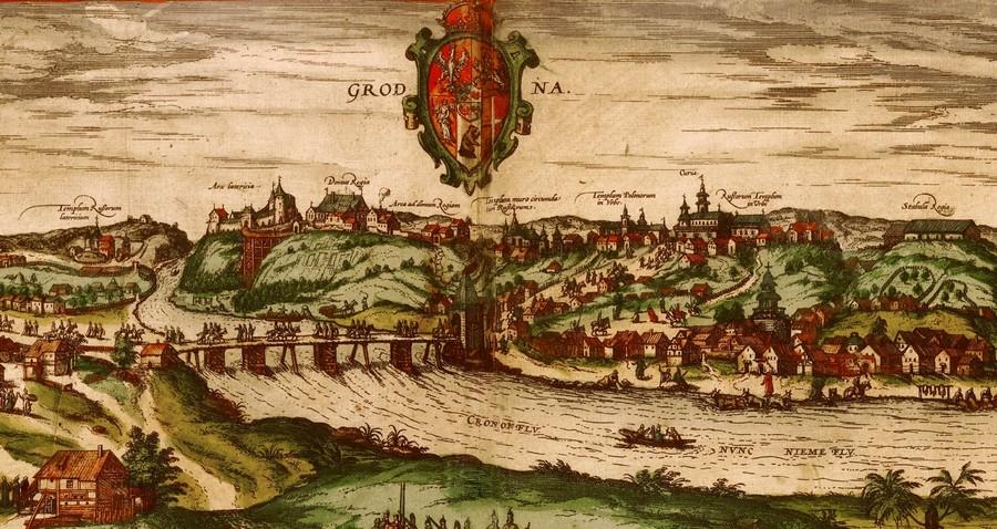 Гродна ў 1568