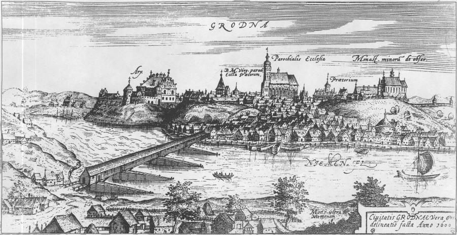 Гродна ў 1600