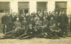 Удзельнікі акруговага з'езду Таварыства беларускай школы ў Горадні. 10 красавіка 1927 г.