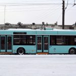 "Бескантактны тралейбус ад ""Белкамунмаш"". Фота: ttransport.ru"
