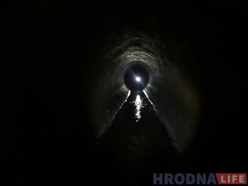 Невядомы падземны Гродна: дзігер паказаў самы доўгі калектар у горадзе