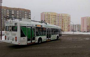 В Гродно запустят новый маршрут с бесконтактными троллейбусами