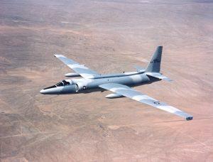 U-2C у шэрым камуфляжы. Фота: U.S. Air Force