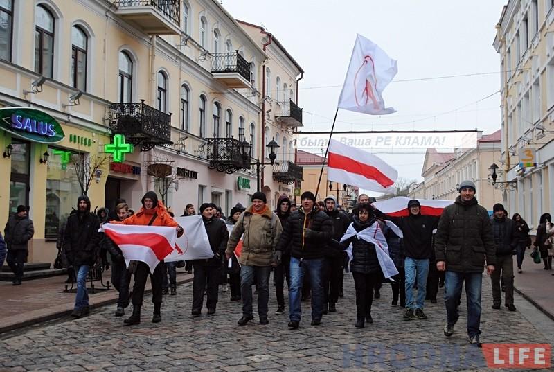 Белорусы отказались платить сбор «затунеядство» ивышли намитинг