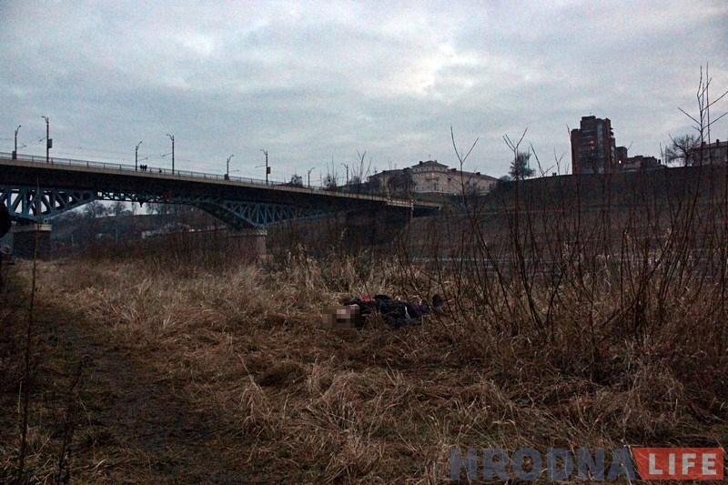 У Гродне пенсіянер скокнуў з моста і загінуў