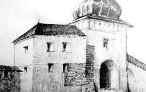 Альтэрнатыва Бачкову: Павел Татарнікаў намаляваў браму Старога замку, якой яе варта было б аднавіць