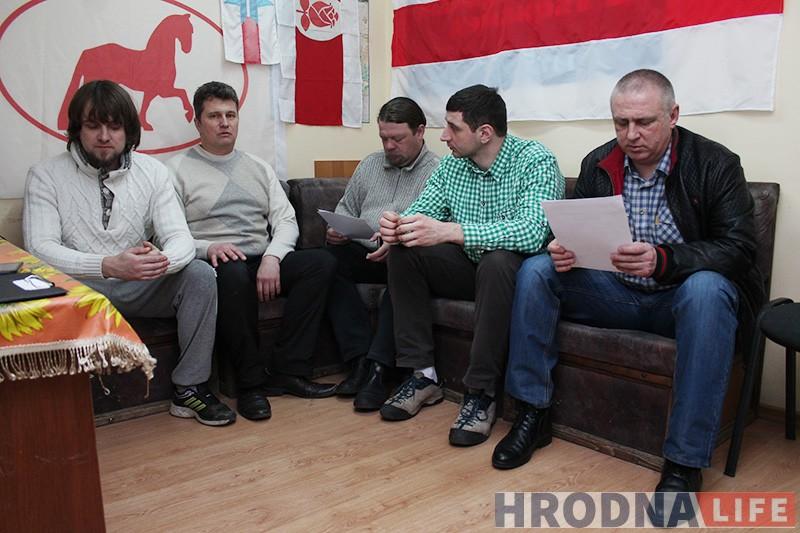 гродзенскія актывісты марш нетунеядцаў (4)