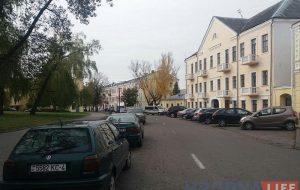 замковая парковка