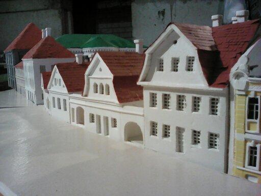 Вось так павінны выглядаць будынкі за палацам тэкстыльшчыкаў