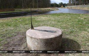 На Аўгустоўскім канале адкрылі адноўлены 200-гадовы сонечны гадзіннік