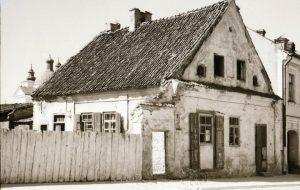 Забытыя мясціны Гродна: дом, ад якога засталася толькі рыбка