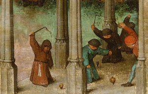 Мурменшпіль, капшук і жужаліцы: як бавіліся маленькія гродзенцы 500 гадоў таму