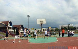 Адрадзілі старую традыцыю: у Гродне прайшоў турнір па стрытболе «Гарадзенская палова 3×3»
