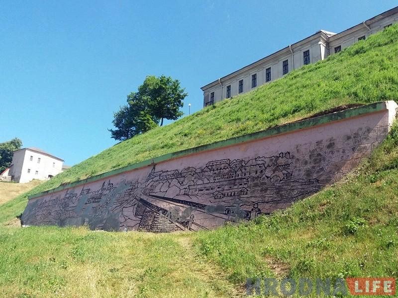 Выяву старога горада ля падножжа Новага замка цалкам абновяць