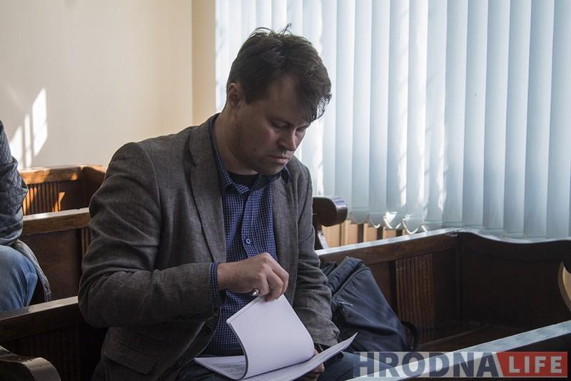 Гродзенец супраць гродзенскага тэлебачання: грамадскі актывіст Вадзім Саранчукоў абараняе годнасць у судзе