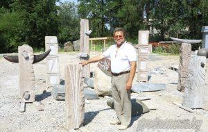 Каменныя скульптуры ад студэнтаў акадэміі мастацтваў з'явяцца ў мікрараёнах Гродна