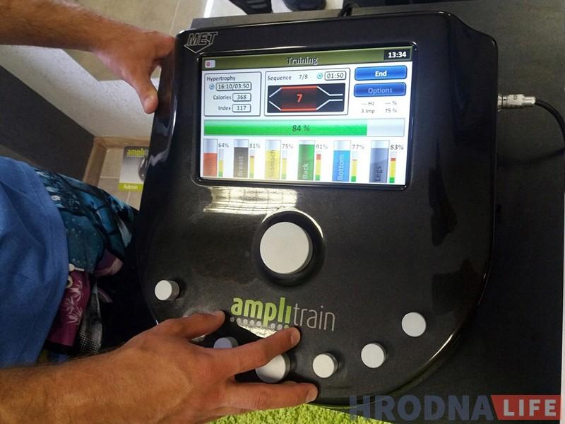 Новы фітнес у Гродне: 20-хвілінная EMS-трэніроўка можа замяніць 2 гадзіны ў трэнажорнай зале