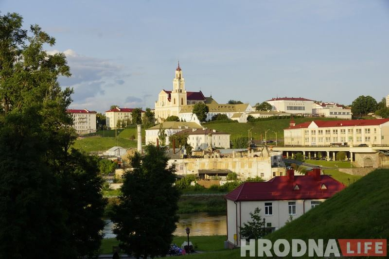 WELCOME TO HRODNA. Гродненцы рассказывают о любимых местах города по-английски