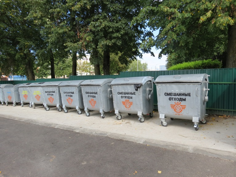 Тратуары з выкарыстаных пакетаў з'явяцца ў Гродне
