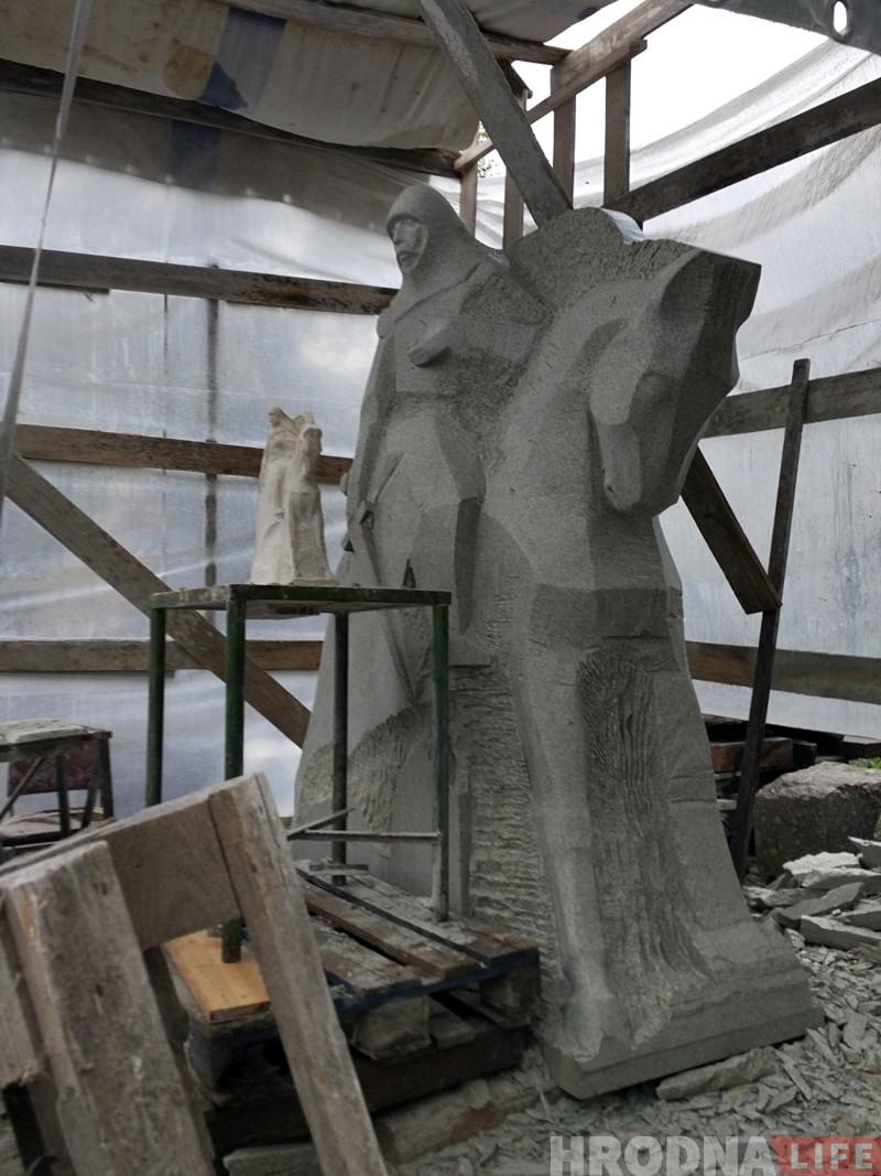 Памятник Давиду Городенскому появится в Гродно не раньше октября