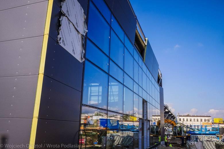 Новы вакзал у Беластоку будуюць у хуткім тэмпе: ён мае быць гатовы ўжо ў лістападзе