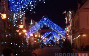 В Гродно готовят праздничную иллюминацию для улиц города