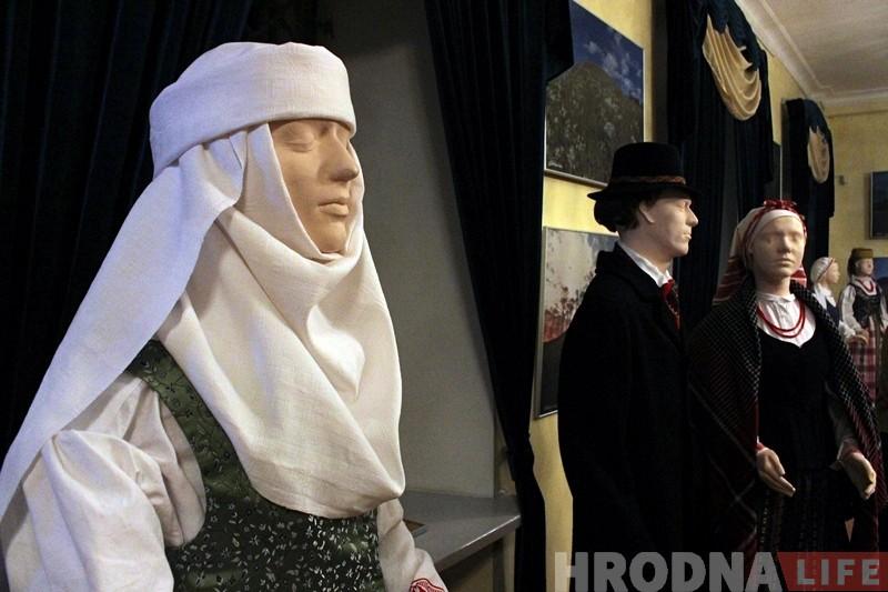 Гарадзішчы і нацыянальныя касцюмы: у музеі гісторыі рэлігіі адкрылася чарговая літоўская выстава