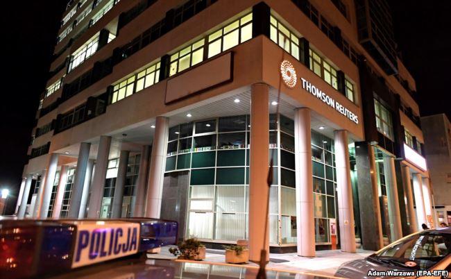Гродзенец Сцяпан Свідзерскі распавёў, чаму страляў у офісе Reuters у Гдыні