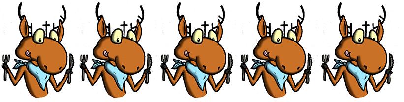 Дзе ў Гродне турысту смачна з'есці. Тэст установаў харчавання з ацэнкай у аленях Святога Губерта