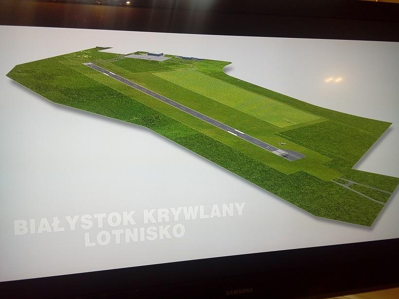 Паляцім з Гродна-2? У суседнім Беластоку пачынаецца будаўніцтва аэрапорту