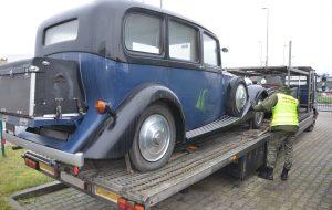 У Кузніцы затрымалі Rolls-Royce коштам 60 тыс. еўра: беларус вёз яго ў Расію