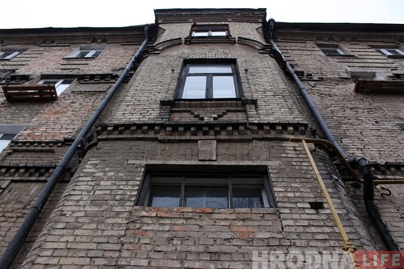У Гродне пачаўся рамонт самага вялікага дарэвалюцыйнага жылога дома