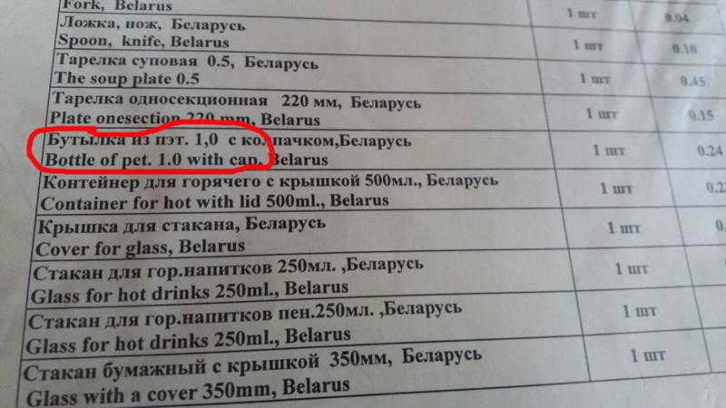 """Фотафакт: у прыдарожным кафэ каля Ліды прадаюць """"суп з мухамі"""""""