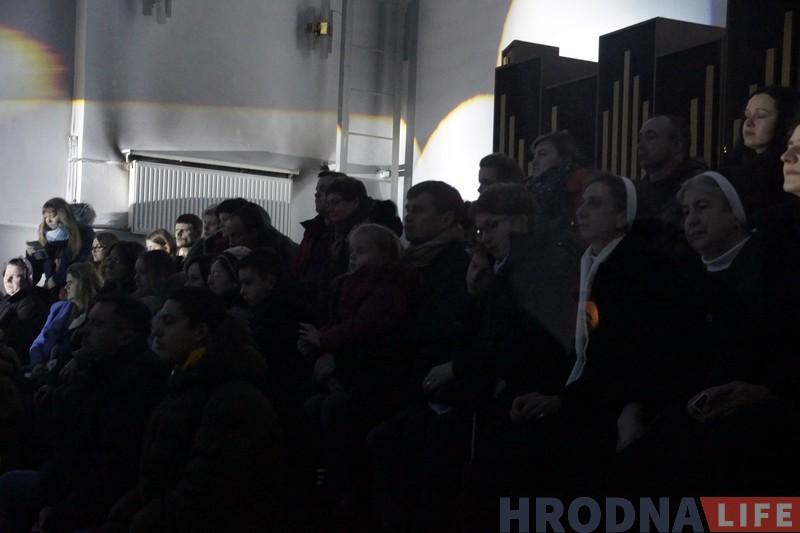 Калядны канцэрт сям'і Паспяшальскіх з аншлагам прайшоў у Гродне