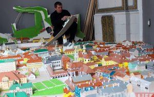 Ігар Лапеха адкрые музей з макетамі гістарычных будынкаў Гродна, дзе экскурсіі будуць суправаджаць спецэфекты