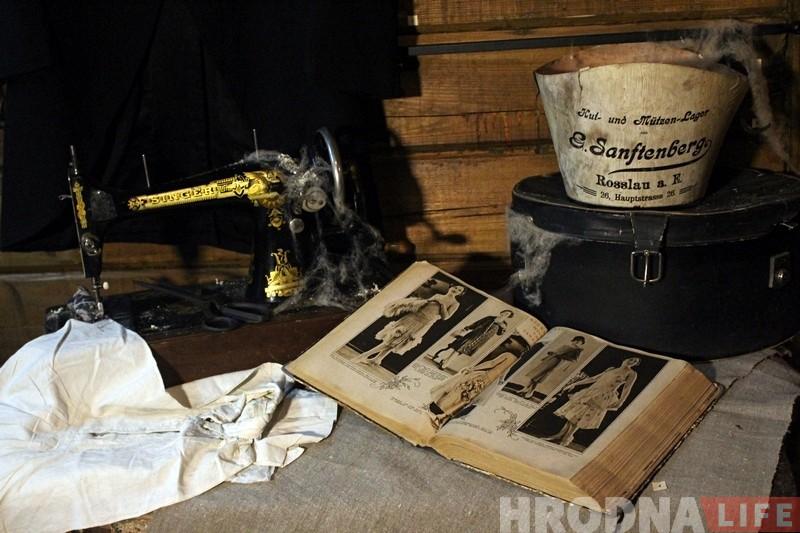 Ад посуду да старых фота: у Музеі Гарадніцы ўзнавілі інтэр'ер тыповага даваеннага гарышча