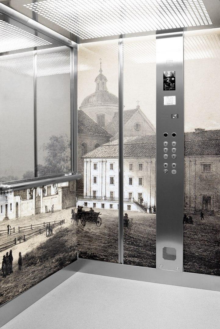 Мінчукі распрацавалі макет для ліфта з выявай Фарнага касцёла