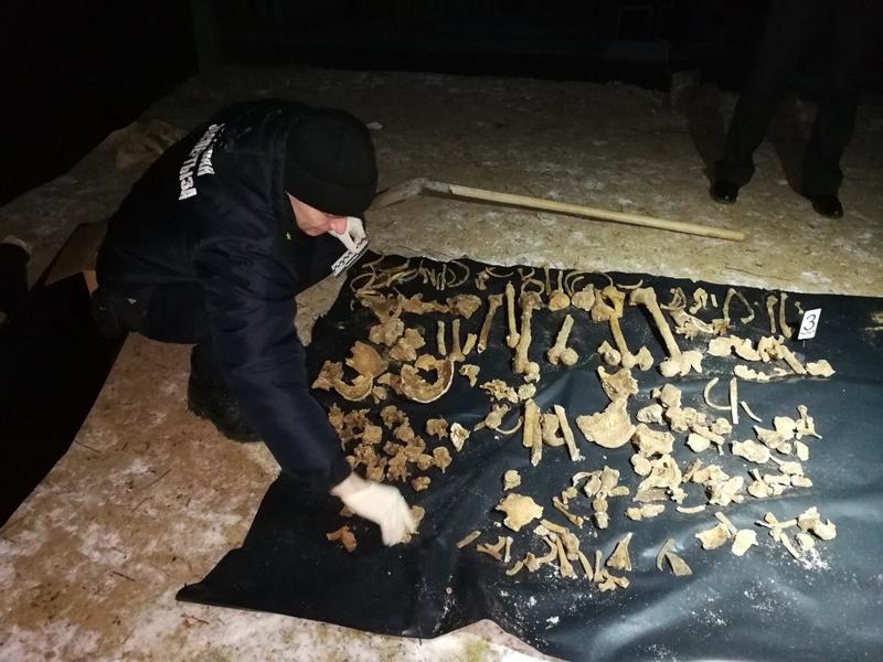 В Гродно на месте будущего торгового комплекса «Triniti» строители нашли останки солдат