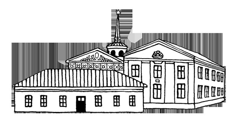 """Туристическая карта Гродно """"Зроблена тутэйшымі"""""""