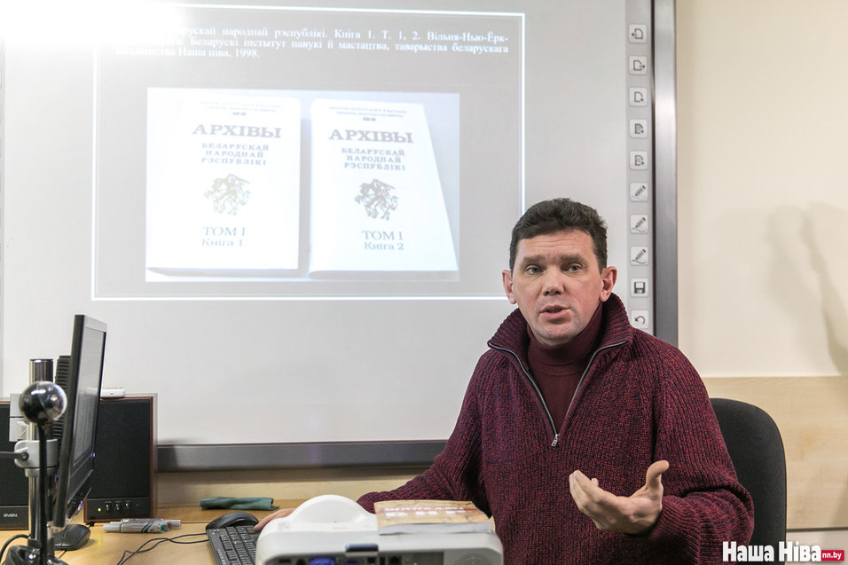 Гісторык Андрэй Чарнякевіч напісаў гісторыю БНР па-руску