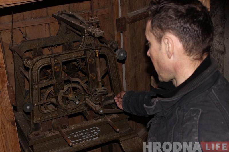 Стары гадзіннік на кірсе будуць аднаўляць. Знайшоўся спонсар