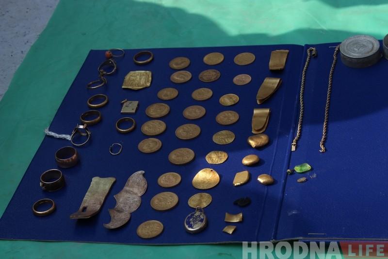 У цэнтры Гродна знайшлі яўрэйскі скарб часоў Другой сусветнай