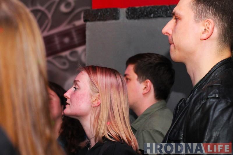 """Гурт """"Разбітае сэрца пацана"""" выступіў у Гродне"""